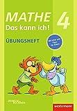Mathe - Das kann ich!: Übungsheft Klasse 4: Denken und Rechnen (Mathe - Das kann ich!: Üben und Nachschlagen)