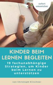 Kinder beim Lernen begleiten